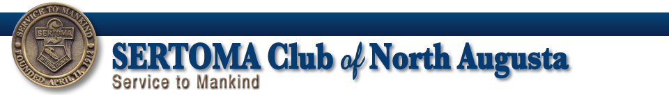 SERTOMA Club of North Augusta, South Carolina